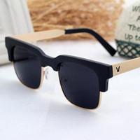Wholesale Authentic UV retro trendy men and women driving glasses sunglasses UV400