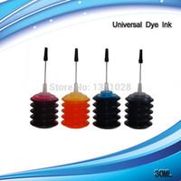 al por mayor conjuntos de recarga de tinta-1 kit de recarga universal de la tinta de la tinta 4 de la tinta del color 30ML, inkk para CISS y cartuchos recargables, envío libre