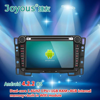 Wholesale 7 quot DIN Android Car DVD Player for Chevrolet new sail with GPS Navigation Radio USB AUX G WIFI GHz CPU G RAM OBD APE