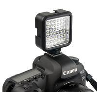 Wholesale Wansen W36 LED Video Light Lamp lighting K DC V LEDs for Nikon Canon DV Camcorder Camera