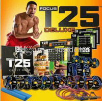 Cheap Worldwise Fitness Video T25 Focus DVD ShaunT's Rockin' Body Workout Set 10 Disks sport videos Fitness Supplies mens training videos