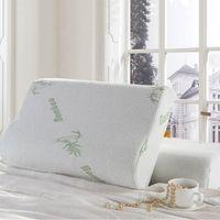 bamboo seating - 2 SIZES Bamboo Pillow Slow Rebound Memory Foam Pillow Health Care Memory Foam Pillow Bamboo Fiber Pillow Travesseiro Almohada