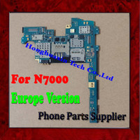 Wholesale 100 Original Europe Version G Unlocked Main Board For Samsung Galaxy Note N7000 Motherboard with Chips Perfect Working