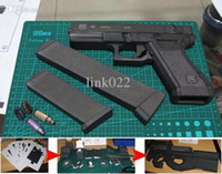 pistols - Paper model firearms scale pistol D manual toy gun Waterproof can choose