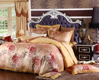 Wholesale Factory Direct Sale Comforter Set Wheat Hollow Out Jacquard Cotton Bed Suite High Quality Wedding Gift King Queen size Bedding Supplies