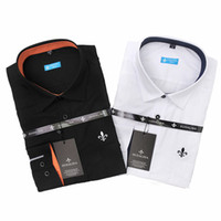 Wholesale hot blusas New style Design Men Shirt High Quality polo tommy Casual Slim Fit mens dress shirts camisa masculina blouses
