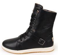 New Brand Vintage mens winter martin boots fashion boot winter warm