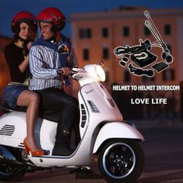 HELMET TO HELMET INTERCOM helmet walkie talkie motorcycle headset intercom wired