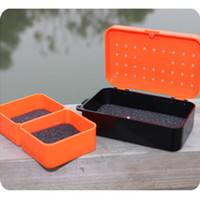 fly fishing tackle - New Compartments cm Plastic Earthworm Worm Bait Lure Fly Fishing Tackle Box H12662