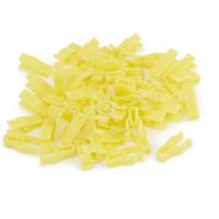 Cheap 50pcs 6mm x 7mm Hole Yellow Plastic Rivets Door Bumper Push in Clip for Auto
