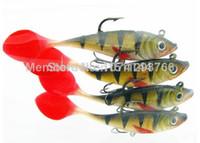 Wholesale long tail soft lead fish fishing lures g cm luminous sea fishing tackle soft bait bass hook