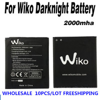 Wholesale For Wiko Darknight High Quality Mha Battery Batterie D Origine Freeshipping