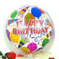 Wholesale 18 Inch Happy Birthday Helium Foil Balloons Birthday Party Suppliers Birthday Balloons Inflatable Classic Toys B064
