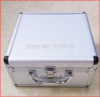 Wholesale Hubsan X4 H107D Aluminum Case Box Silver Carry Case for Hubsan X4 H107D FPV Quadcopter H107C H107L H107