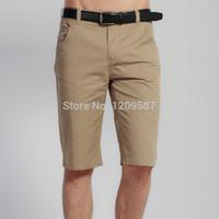 Wholesale new summer men short pants cotton solid casual beach basketball mens pants sportswear running fashion jeans short pants
