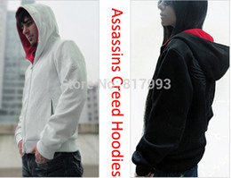 Wholesale Assassin s assassins Creed Hoodies sportswear tracksuitsMen Clothing Desmond Hoodie man hoody sport suit Sweatshirt