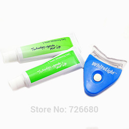 Wholesale Hot New White LED Light Teeth Whitening Tooth Gel Whitener Healthy Oral Dental Care Toothpaste Kit