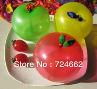 Wholesale The rd Thickened Increase Apple Ball Quintain Ball Filled With Water Toys Inflatable Balloon