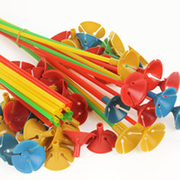 Wholesale cm Balloon sticks for latex ballon inflatable toys and party baloons accessories