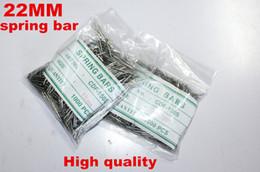 Regarder des pièces de réparation à vendre-Vente en gros 1000PCS / sac de haute qualité de réparation de la montre outils kits 22MM ressort bar montre pièces de réparation -041413