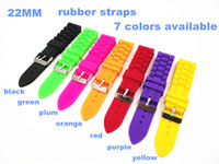 Wholesale High quality MM rubber Watch band watch strap rubber straps colors available