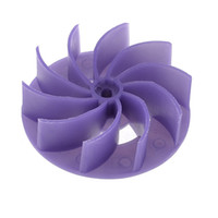 Wholesale Dark Purple Plastic Inch Outer Dia Blades Blower Fan Blade
