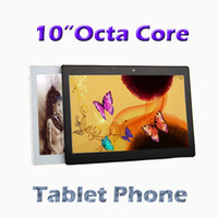 Wholesale 10 inch Octa Core Tablet PC Mobile phone pxl screen GB GB GPS G Tablet Android Tablets Ulltrabook