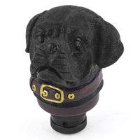 Wholesale Stone Dog Shape Stick Shifter Gear Shift Knob Black for Car