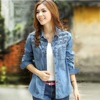 Cheap Blusas femininas Best Camisa Jeans
