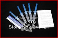 Cheap Wholesale-1packs Teeth Whitening Kit 35% Peroxide Dental Professional Bleaching System Gel 50ML Kit+2PCS Trays Shade Guide