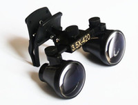 Wholesale Dental lab Binocular clip loupes optical glass Magnifying X mm incredible
