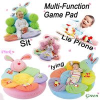 Wholesale ELC Blossom Cosy Baby Seat Baby Play Mat Small Baby Game Pad Pink Rabbit Green Ponky Cute Baby Toy Floor Mat Tapete Para Bebe