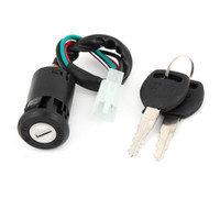 Wholesale Motorcycle Spare Part Pins Terminal Wired Electric Door Lock GN125
