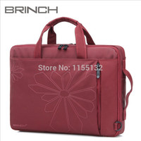 Wholesale Hot new arrival brinch waterproof shockproof inch professional outdoor laptop computer bag shoulder notebook messenger bag