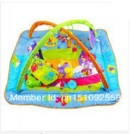 Wholesale hot sale love multifunctional music baby game blanket belt mount game pad fitness rack blue Red color