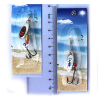 salmon lures - NEW PACKAGE Metal lure x spinnerbait super new fishing hardlure pike salmon bass card