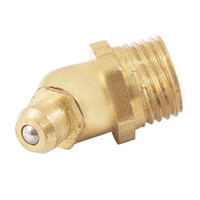 Wholesale Brass Degree Angle Type mm M10 Grease Nipple Zerk Fitting