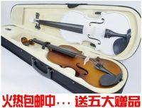 Wholesale Violin the popularity of playing violin adult child handmade violin full set