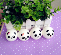 Wholesale STYLES Kawaii Mini Panda Couple Squishy Cell Phone Charm
