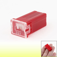 Wholesale Auto Car Pacific Type Slow Blow Mini Female PAL Fuse A AMP Red