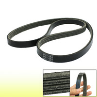 alternator serpentine belt - Poly V Alternator Fan Serpentine Belt Part Black PK1055