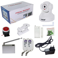 Wholesale Indoor IP Camera Remote Controller Infrared Detector Support G TF Card P2P H P mini wifi camera