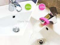 Wholesale Faucet infant baby supplementer Children Faucet Extender leading children baby wash wash aids More Than TNT