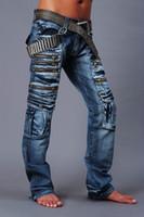 mens designer jeans - Jeansian Collection Mens Unique Designer Jeans Denim Top Pants Man Fashion Pant Clubwear W30 L32