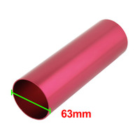 Wholesale 20cm Length Red Aluminum Auto Cold Air Intake Pipe Hose