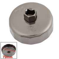 Wholesale 13mm Square Drive mm Flutes End Cap Style Oil Filter Wrench Tool for Ford