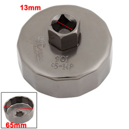 Car Auto Cap Filtre à huile Socket Wrench Cup Tool 65mm ID 14 Flutes pour Toyota