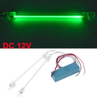 Wholesale Car Vehicles CCFL Cold Cathode Neon DC V Tube Light Lamp cm Green