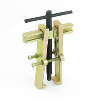 bearing puller motorcycle - 75mm Brass Tone Dual Foot Puller Tool Black for Scooter Motorcycle Bearing Gear
