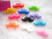 Wholesale mm resin cabochon mixed moustache cute for DIY decoration